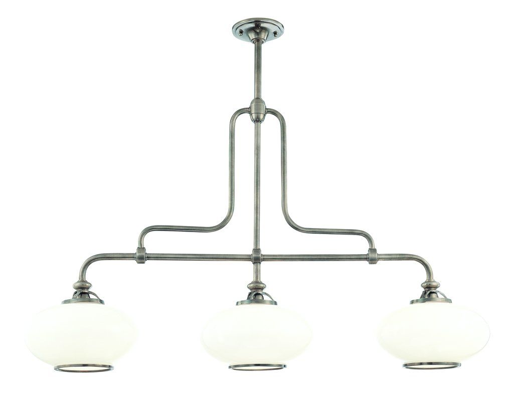 Hudson Valley Lighting 9813 3 Light Island Fixture from the Canton Sale $1446.00 ITEM#: 982932 MODEL# :9813-PN UPC#: 806134097332 :