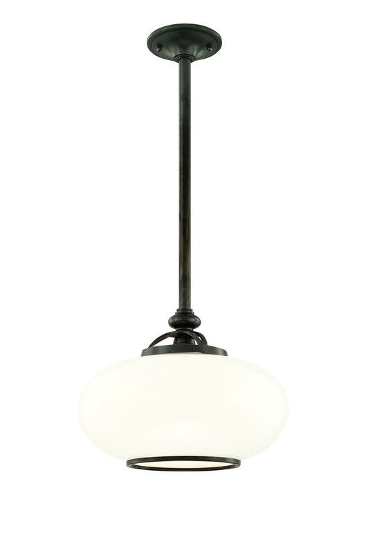 Hudson Valley Lighting 9815 One Light Pendant from the Canton