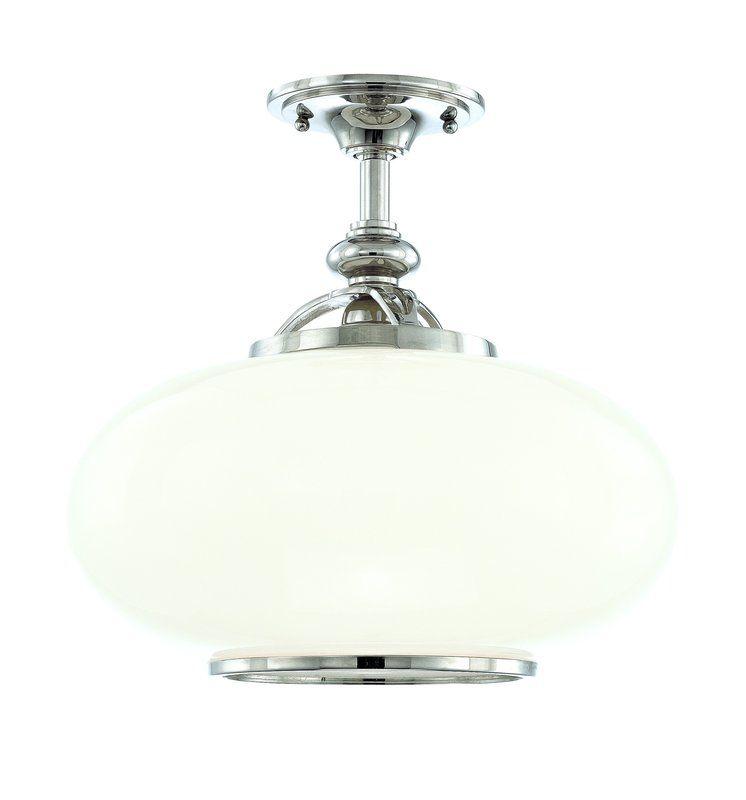 Hudson Valley Lighting 9815F One Light Semi Flush Ceiling Fixture from Sale $450.00 ITEM#: 984898 MODEL# :9815F-ON UPC#: 806134097295 :