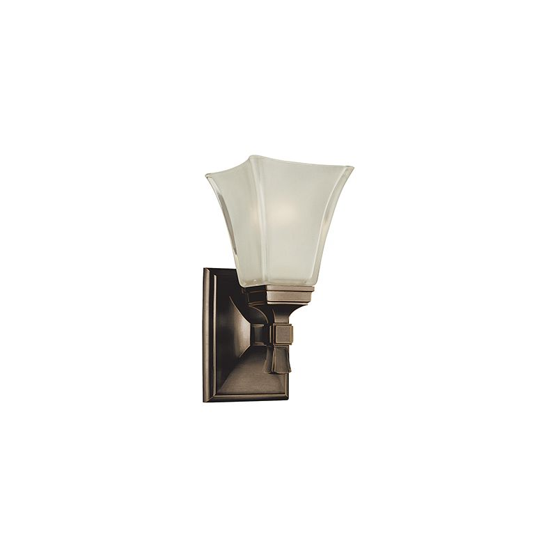 Hudson Valley Lighting 1171 Kirkland 1 Light Bathroom Wall Sconce Old