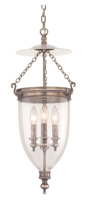 Hudson Valley Lighting 142 Three Light Pendant from the Hanover Sale $1018.00 ITEM#: 525071 MODEL# :142-HN UPC#: 806134003531 :