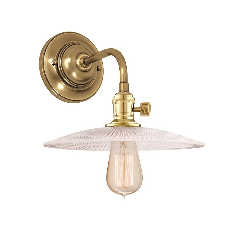 Hudson Valley Lighting 8000-GS4 Single Light Down Lighting Wall Sconce Sale $278.00 ITEM#: 1737831 MODEL# :8000-AGB-GS4 UPC#: 806134103279 :