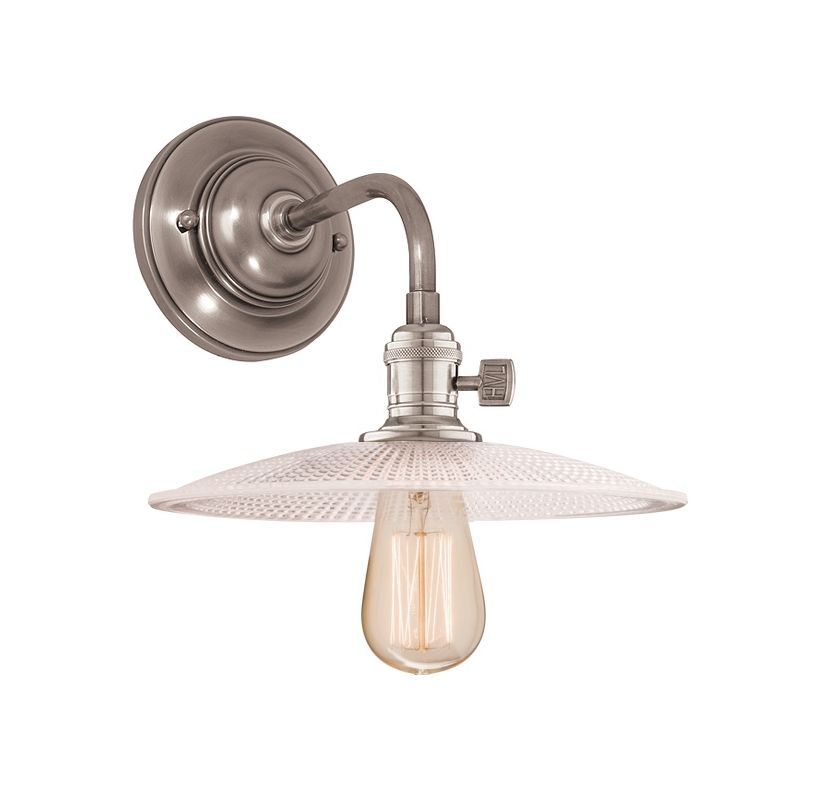 Hudson Valley Lighting 8000-GS4 Single Light Down Lighting Wall Sconce Sale $278.00 ITEM#: 1737832 MODEL# :8000-HN-GS4 UPC#: 806134103323 :
