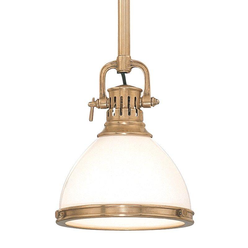 Hudson Valley Lighting 2621 Randolph 1 Light Farmhouse Style Mini Sale $398.00 ITEM#: 525108 MODEL# :2621-AGB UPC#: 806134040871 :