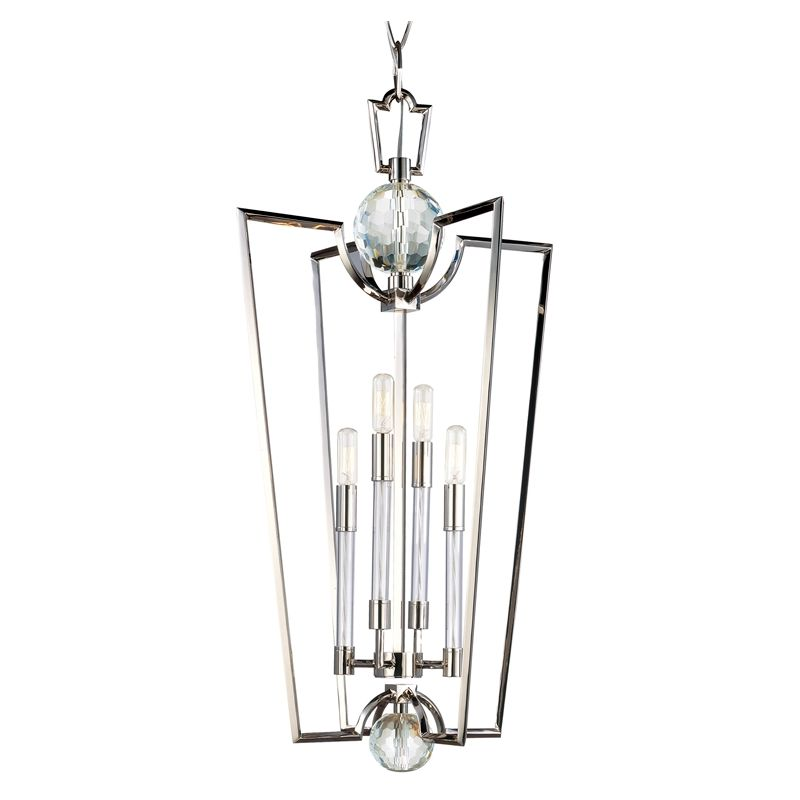 Hudson Valley Lighting 3017 Waterloo 4 Light Chandelier with