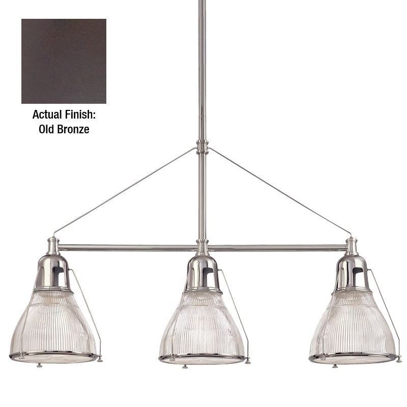 Hudson Valley Lighting 7313 Haverhill 3 Light Island Fixture with Sale $964.00 ITEM#: 982799 MODEL# :7313-OB UPC#: 806134094379 :