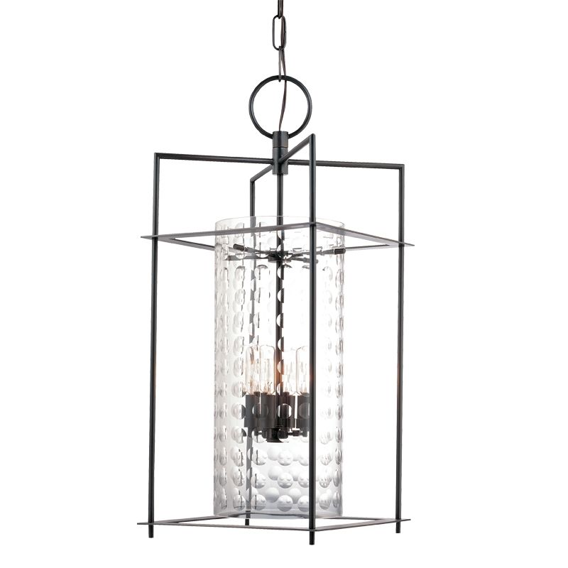 Hudson Valley Lighting 7612 Espous 4 Light Foyer Pendant with Cut