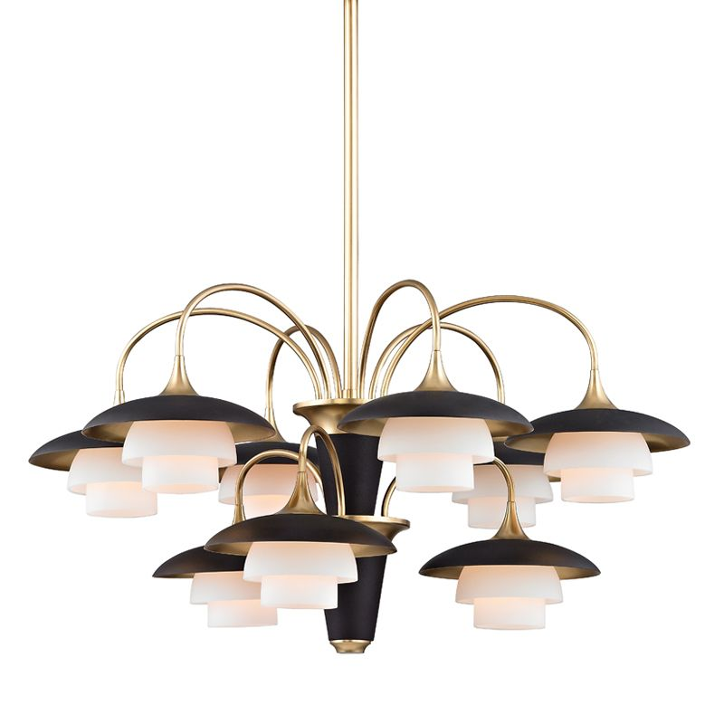 "Hudson Valley Lighting 1009 Barron 9 Light 30.75"" Wide Chandelier with"