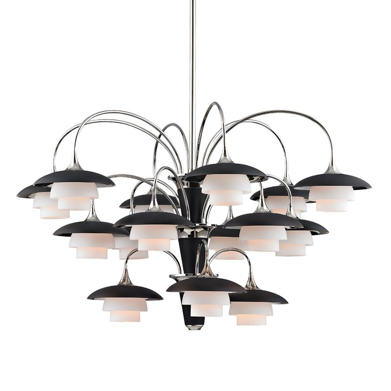 "Hudson Valley Lighting 1015 Barron 15 Light 38.5"" Wide Chandelier with"
