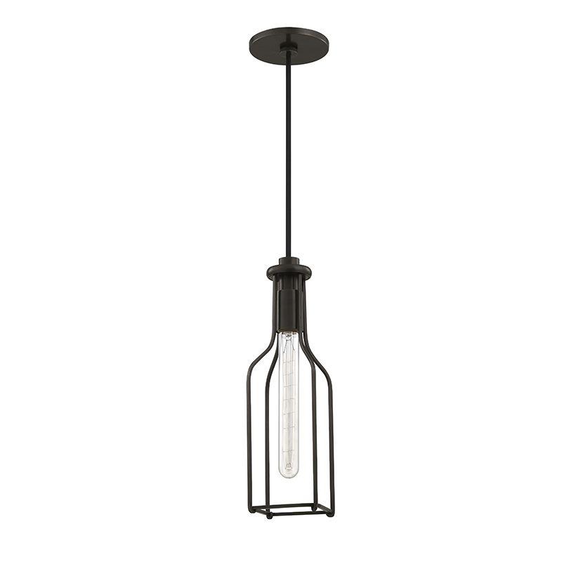 "Hudson Valley Lighting 1041 Colebrook Single Light 5"" Pendant With"