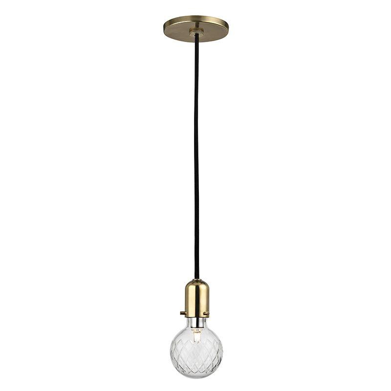 "Hudson Valley Lighting 1100 Marlow Single Light 6"" Pendant with Hand"