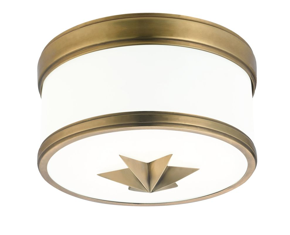 Hudson Valley Lighting 1109 Seneca 1 Light Flush Mount Ceiling Fixture Sale $268.00 ITEM#: 2295207 MODEL# :1109-AGB UPC#: 806134158682 :