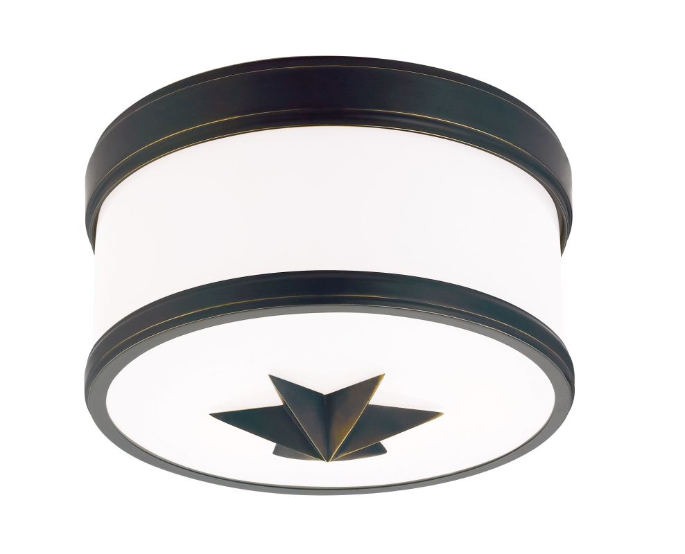 Hudson Valley Lighting 1109 Seneca 1 Light Flush Mount Ceiling Fixture Sale $268.00 ITEM#: 2295208 MODEL# :1109-OB UPC#: 806134158699 :