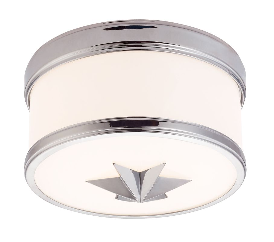 Hudson Valley Lighting 1109 Seneca 1 Light Flush Mount Ceiling Fixture Sale $268.00 ITEM#: 2295209 MODEL# :1109-PC UPC#: 806134158705 :