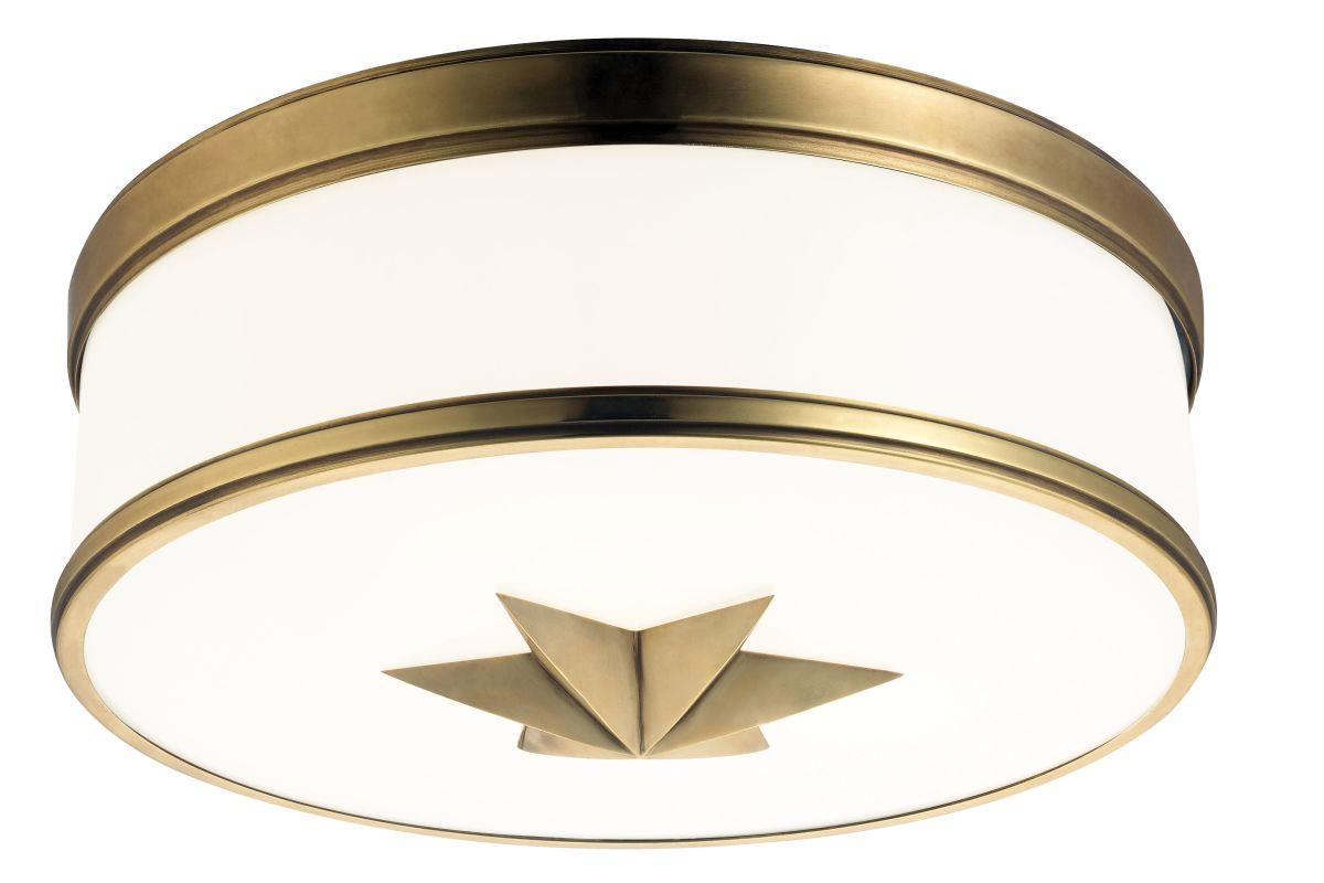 Hudson Valley Lighting 1115 Seneca 3 Light Flush Mount Ceiling Fixture Sale $462.00 ITEM#: 2295217 MODEL# :1115-AGB UPC#: 806134158781 :