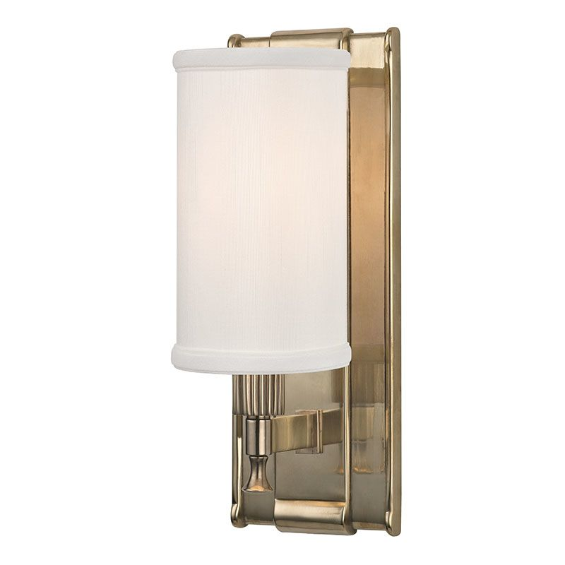 Hudson Valley Lighting 1121 Palmdale 1 Light Wall Sconce with Faux
