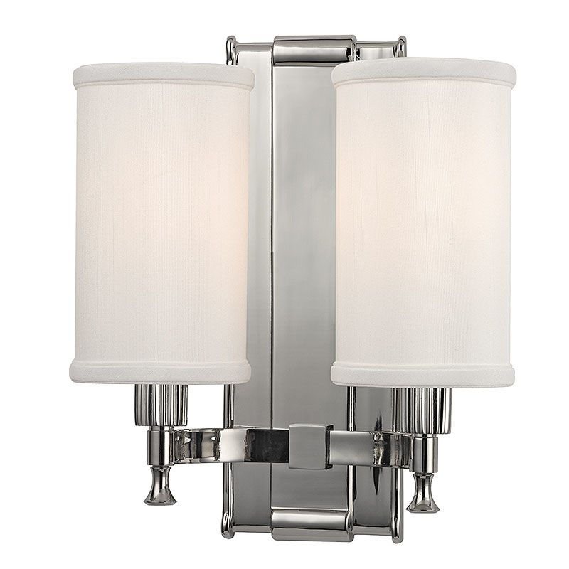 Hudson Valley Lighting 1122 Palmdale 2 Light Wall Sconce with Faux