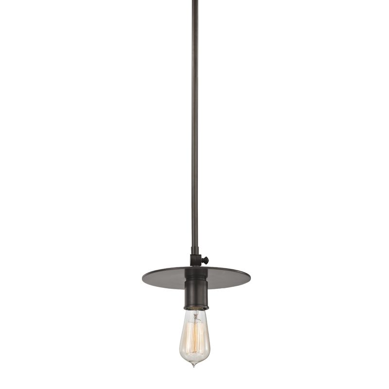 "Hudson Valley Lighting 1160 Walker Single Light 8.25"" Wide Pendant Old"
