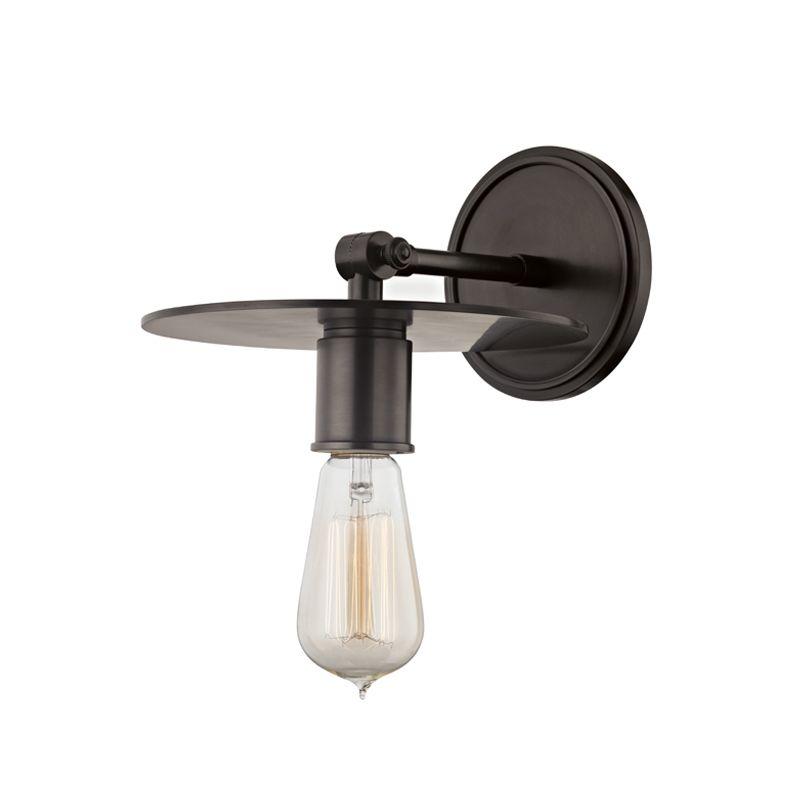 "Hudson Valley Lighting 1161 Walker Single Light 8.25"" Wide Wall Sconce"