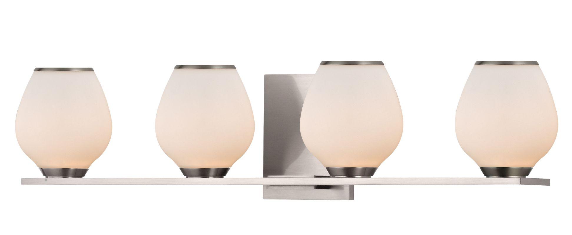 Hudson Valley Lighting 1194 Verona 4 Light Xenon Bathroom Vanity Light Sale $193.60 ITEM#: 2295068 MODEL# :1194-SN UPC#: 806134158903 :
