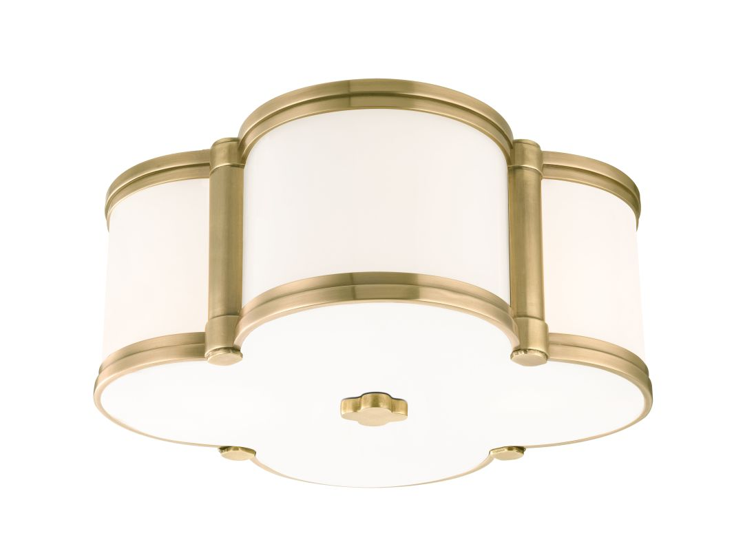 Hudson Valley Lighting 1212 Chandler 2 Light Flush Mount Ceiling