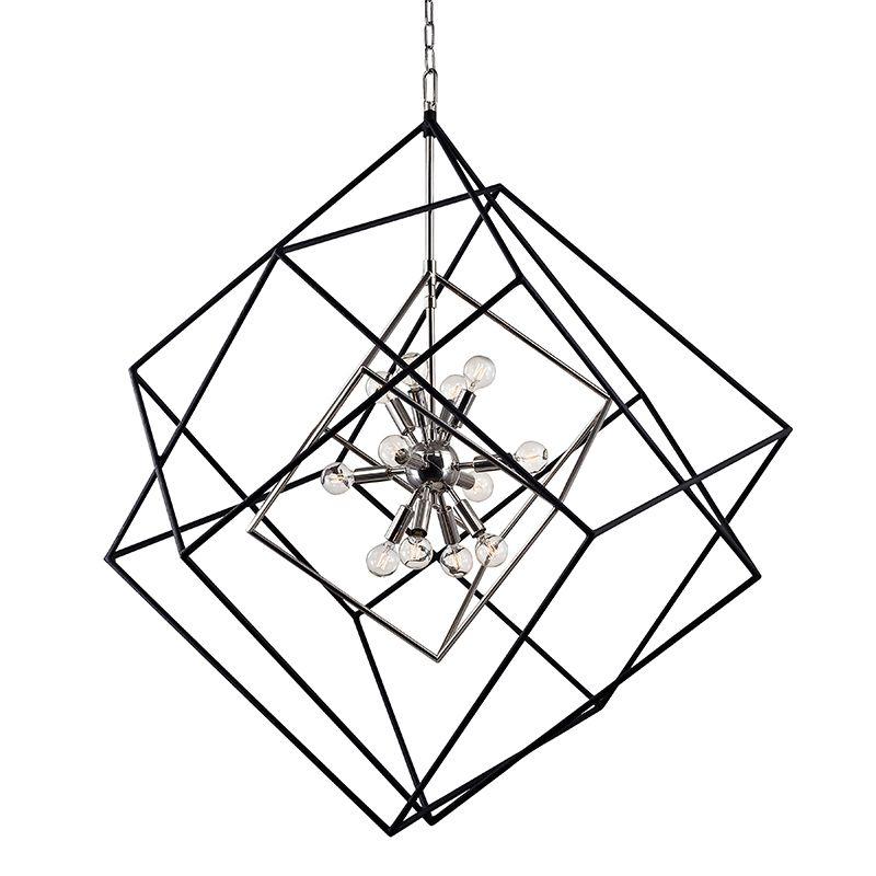 Hudson Valley Lighting 1234 Roundout 12 Light Pendant Polished Nickel Sale $1790.00 ITEM#: 2793351 MODEL# :1234-PN UPC#: 806134195212 :