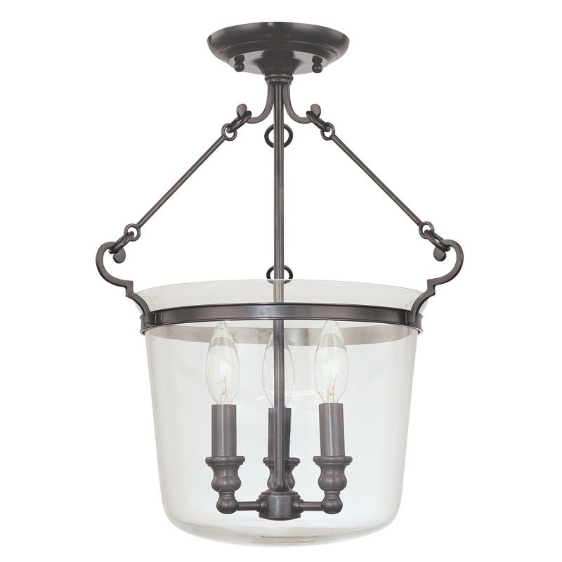 Hudson Valley Lighting 130 Three Light Semi Flush Ceiling Fixture from Sale $514.00 ITEM#: 982104 MODEL# :130-OB UPC#: 806134094720 :