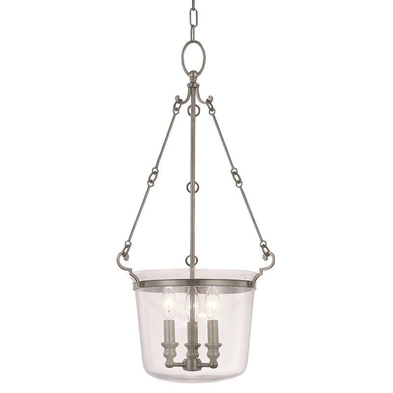 Hudson Valley Lighting 131 Three Light Pendant from the Quinton