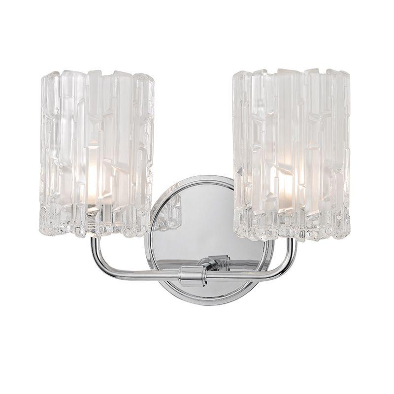 """Hudson Valley Lighting 1332 Dexter 2 Light 11"""" Bathroom Vanity Light"""