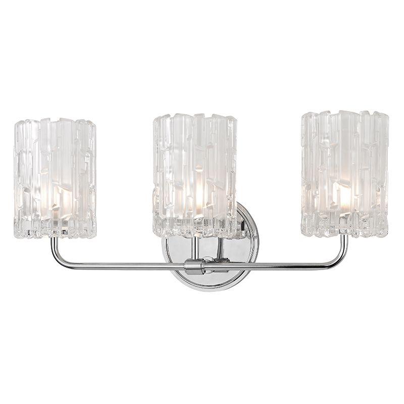 """Hudson Valley Lighting 1333 Dexter 3 Light 18"""" Bathroom Vanity Light"""