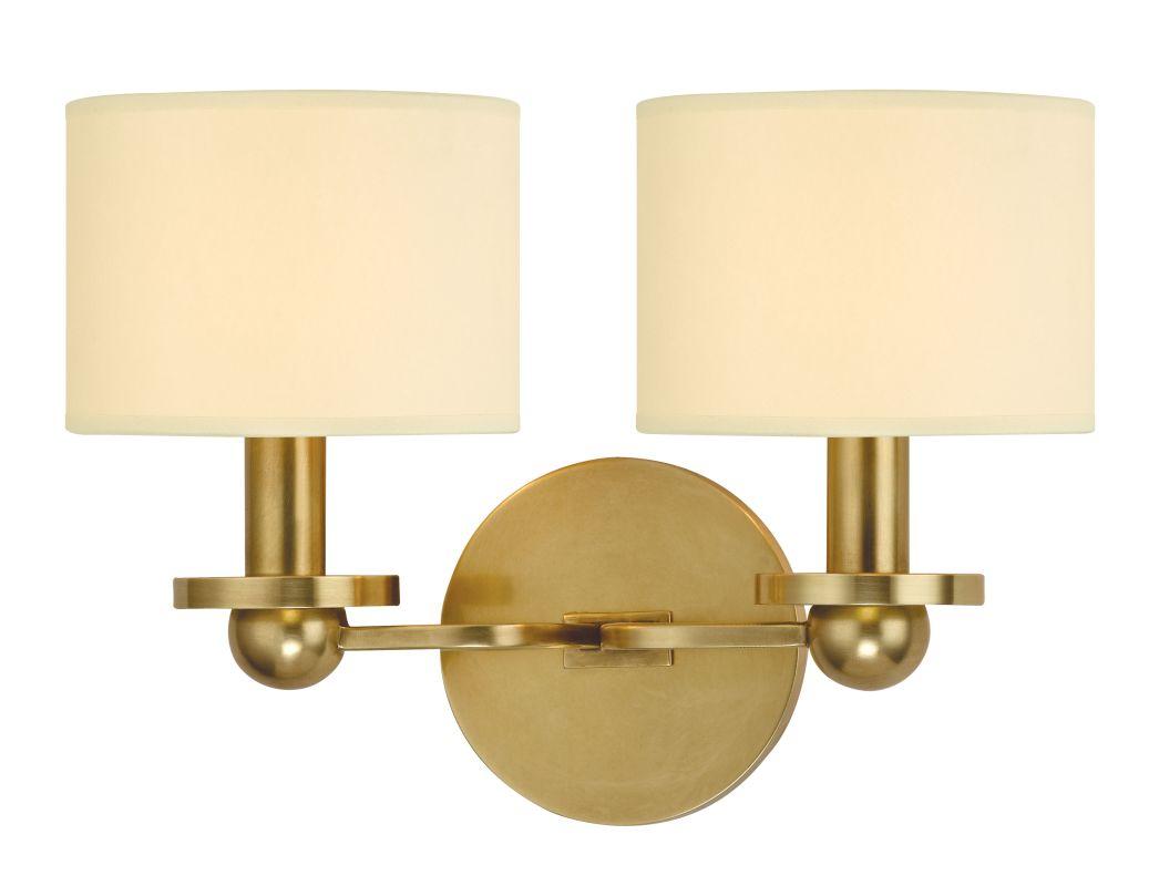 Hudson Valley Lighting 1512 Kirkwood 2 Light Wall Sconce Aged Brass Sale $278.00 ITEM#: 2294929 MODEL# :1512-AGB UPC#: 806134159122 :