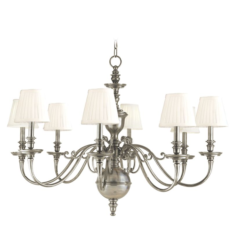 Hudson Valley Lighting 1748 Eight Light Up Lighting Cast Brass Sale $2772.00 ITEM#: 1737167 MODEL# :1748-HN UPC#: 806134108137 :