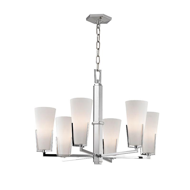 """Hudson Valley Lighting 1806 Upton 6 Light 19"""" Tall Single-Tier"""