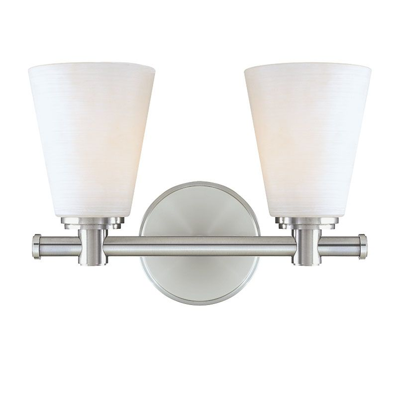 Hudson Valley Lighting 1842 Two Light Wall Sconce from the Garland Sale $214.00 ITEM#: 982377 MODEL# :1842-PN UPC#: 806134054779 :