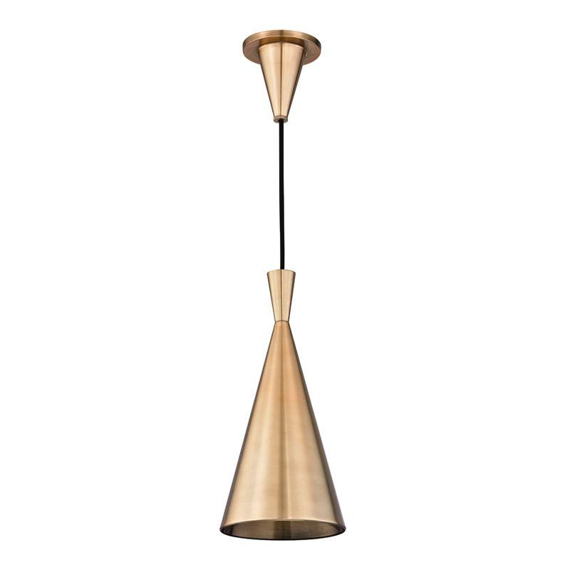 "Hudson Valley Lighting 1920 Ovid Single Light 6.5"" Wide Pendant with"