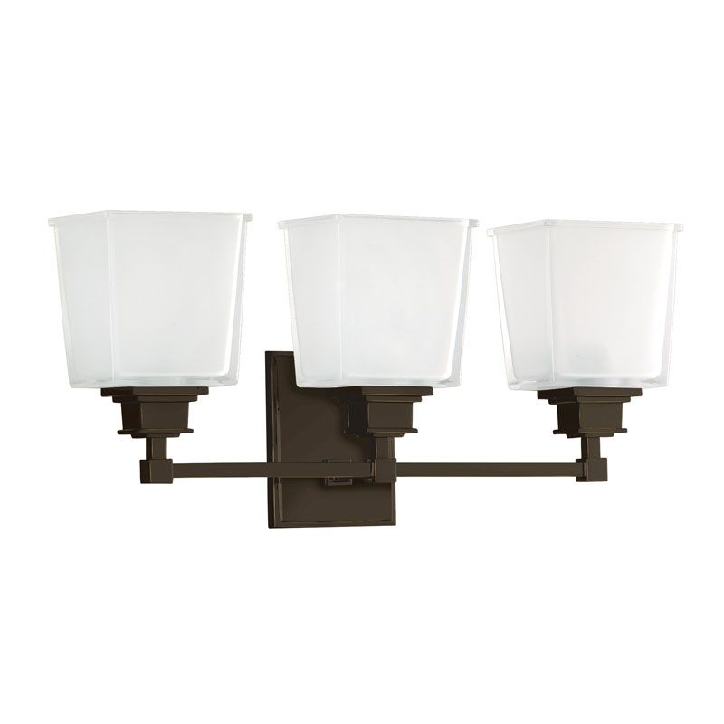 Hudson Valley Lighting 1953 Three Light Wall Sconce from the Berwick