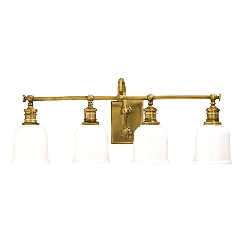 "Hudson Valley Lighting 1974 Four Light 29"" Wide Bathroom Fixture from"