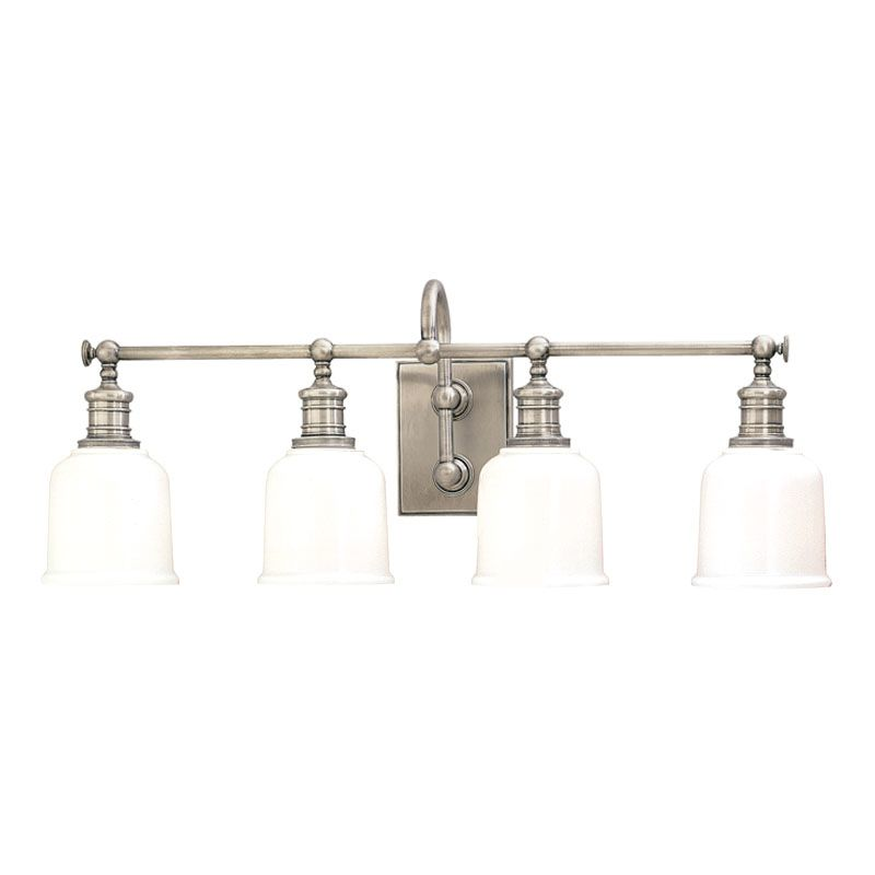 """Hudson Valley Lighting 1974 Four Light 29"""" Wide Bathroom Fixture from"""
