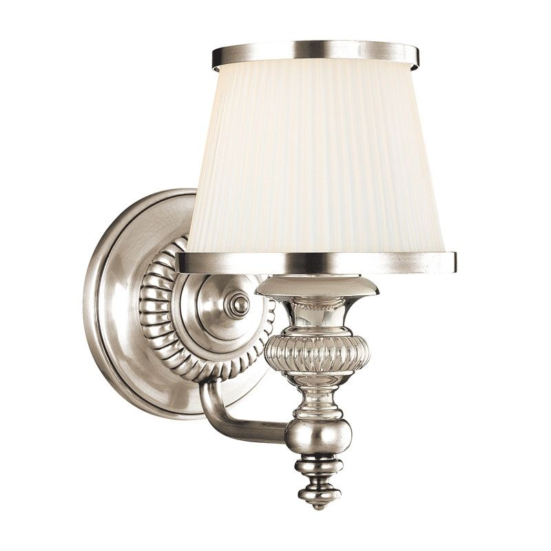 Hudson Valley Lighting 2001 One Light Wall Sconce from the Milton