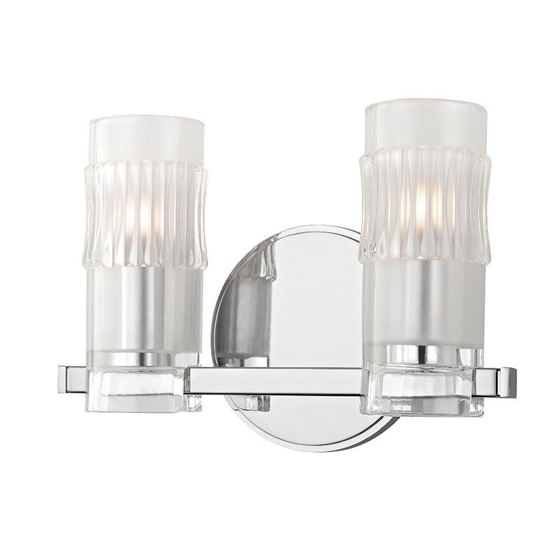 "Hudson Valley Lighting 2022 Malone 2 Light 10"" Bathroom Vanity Light"