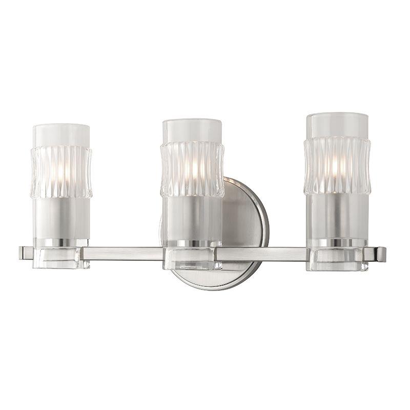 "Hudson Valley Lighting 2023 Malone 3 Light 17"" Bathroom Vanity Light"