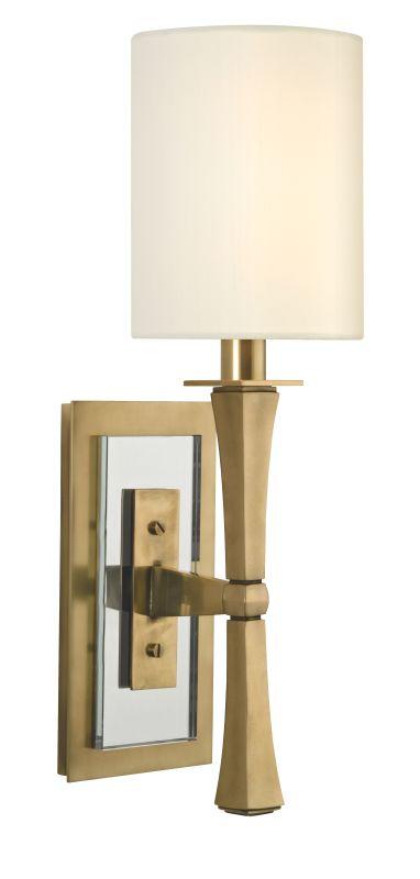 Hudson Valley Lighting 2111 York 1 Light Wall Sconce Aged Brass Indoor