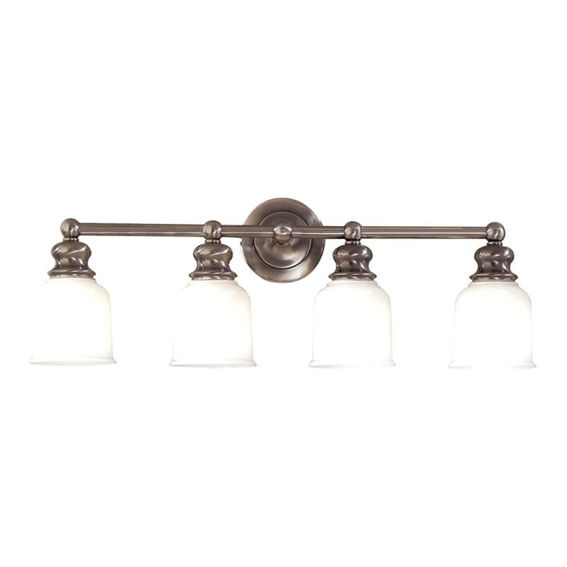 """Hudson Valley Lighting 2304 Four Light 29"""" Wide Bathroom Fixture from"""