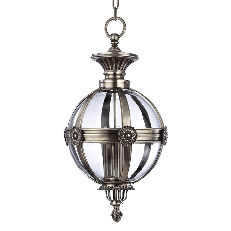 Hudson Valley Lighting 2320 Marietta 4 Light Pendant Aged Silver