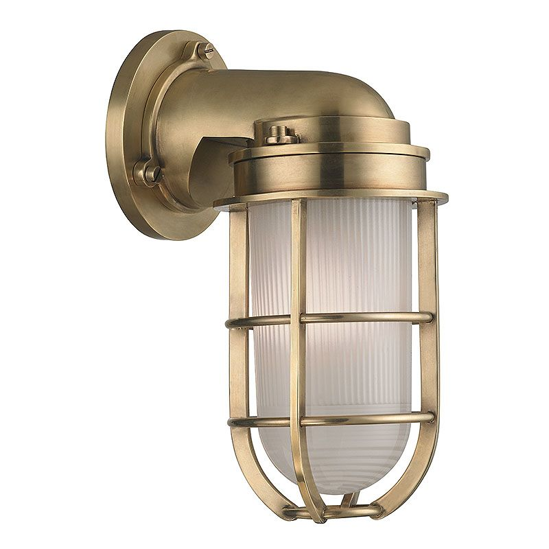 Hudson Valley Lighting 240 Carson 1 Light Nautical Outdoor Wall Sconce Sale $598.00 ITEM#: 2402265 MODEL# :240-AGB UPC#: 806134174262 :