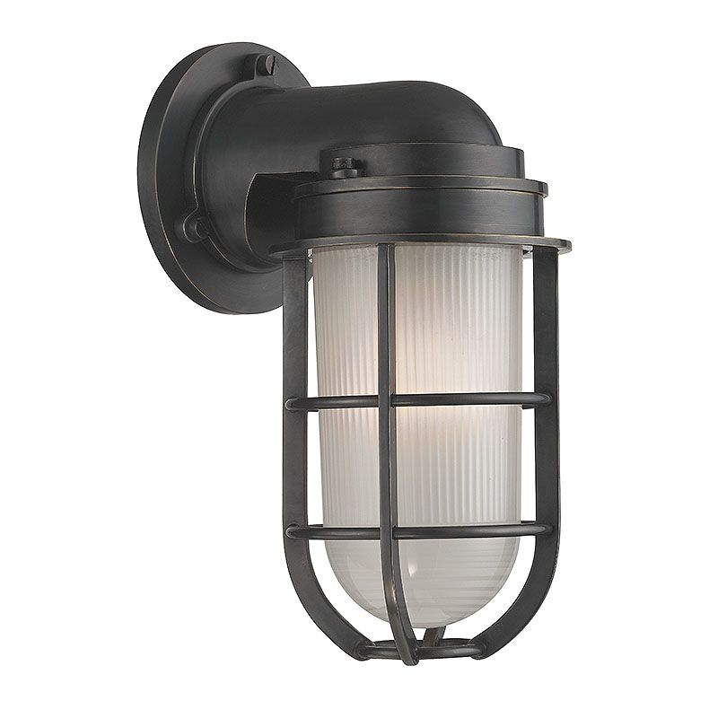 Hudson Valley Lighting 240 Carson 1 Light Nautical Outdoor Wall Sconce Sale $598.00 ITEM#: 2402268 MODEL# :240-OB UPC#: 806134174293 :
