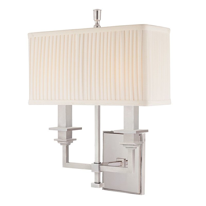 Hudson Valley Lighting 242 Two Light Wall Sconce from the Berwick