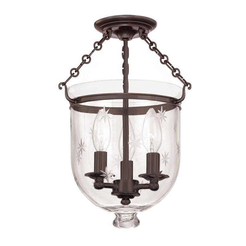 Hudson Valley Lighting 251-C3 Three Light Semi Flush Ceiling Fixture Sale $536.00 ITEM#: 983552 MODEL# :251-OB-C3 UPC#: 806134061166 :