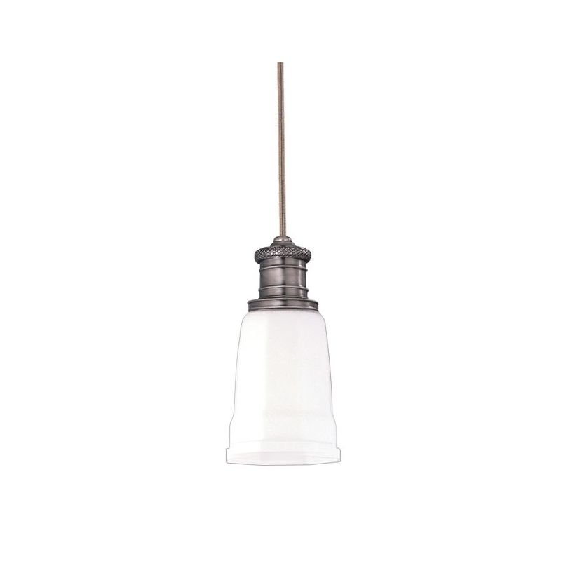 "Hudson Valley Lighting 2521 Single Light Pendant from the Bradford Sale $214.00 ITEM#: 525797 MODEL# :2521-AN UPC#: 806134013004 Bradford Collection 1 Light Pendant Refresh your sense of beauty with this timeless collection 5"" D x 10 1/2"" Min. Ht. 1-75w Medium Base (Not Included) :"