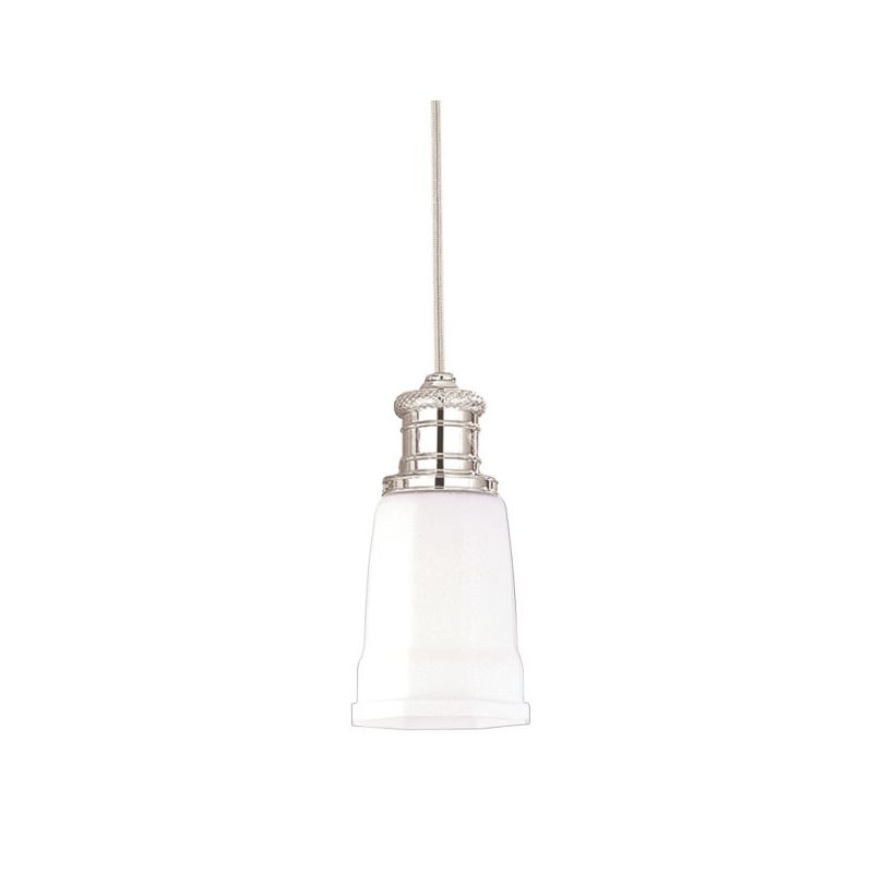 Hudson Valley Lighting 2521 Single Light Pendant from the Bradford Sale $214.00 ITEM#: 525798 MODEL# :2521-PN UPC#: 806134013028 :